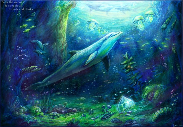 Now the Ocean is Conscious - It Feels and Thinks.  Ecco the Dolphin - The Tides of Time