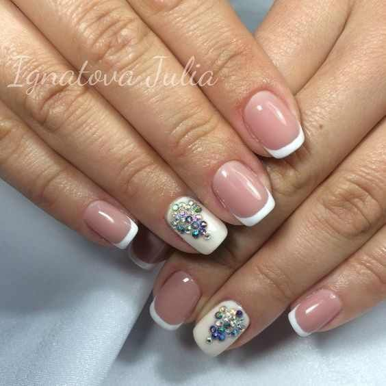 Best 25+ Simple elegant nails ideas on Pinterest | Elegant nails, Simple nail  arts and Classy simple nails - Best 25+ Simple Elegant Nails Ideas On Pinterest Elegant Nails