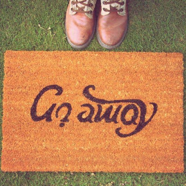 Come In Go Away #Doormat