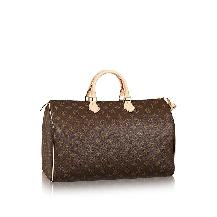 Découvrez l'incontournable Speedy 40 via Louis Vuitton