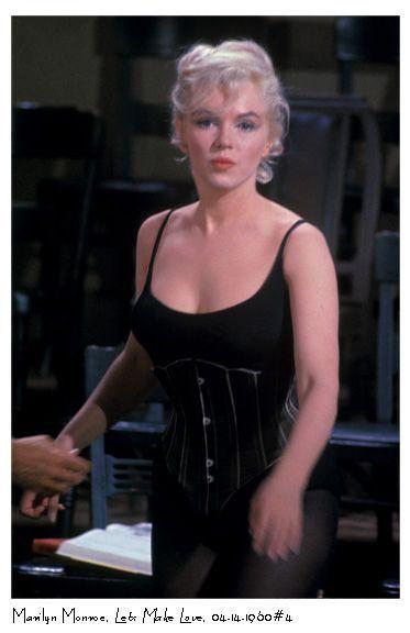 Celebrity corset wearers of black