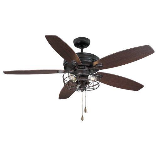 "Trent Austin Design® 52"" 5 Blade Ceiling Fan"