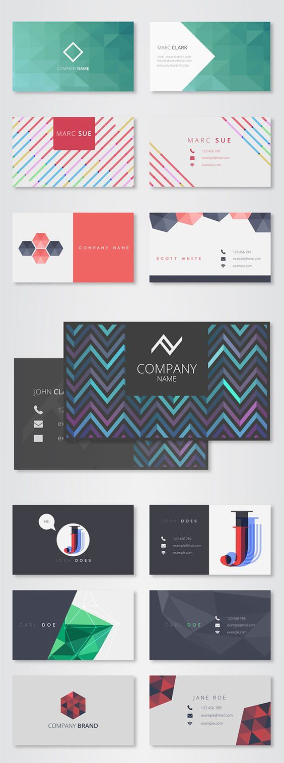 617 Best Business Cards Design Images On Pinterest Business Cards