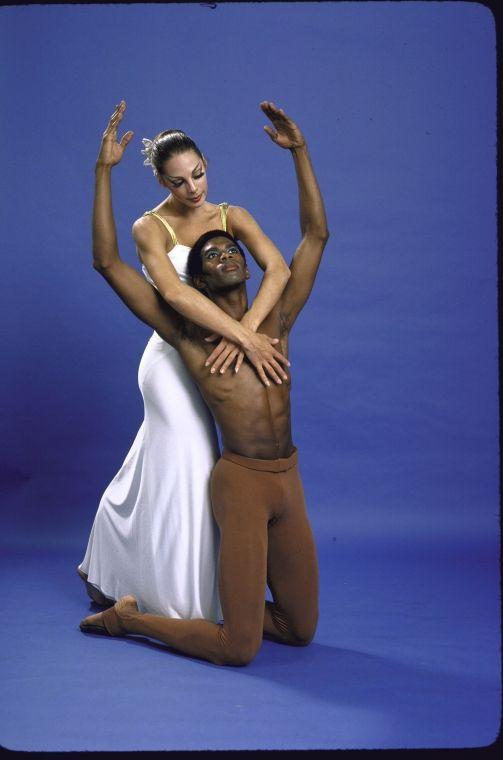 1979 George White, Jr., a soloist with Martha Graham Dance Company