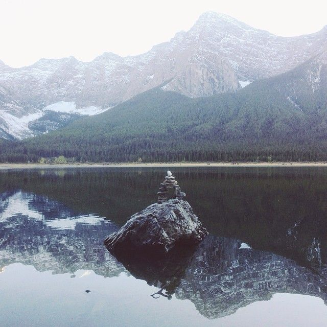Spray Lakes, AB #iphoneography | ©Jayme Ford