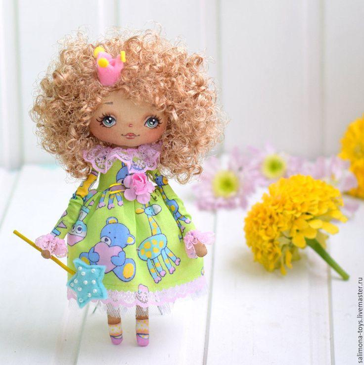 Купить Принцесса Волшебная - салатовый, кукла ручной работы, кукла в подарок…