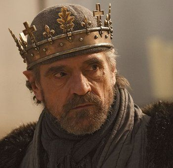 The Hollow Crown: Henry IV I love Jeremy Irons. The first Brit I ever fell in love with. And I still love him deeply.