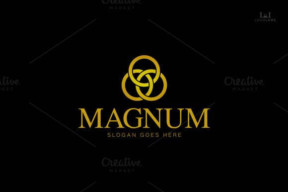 Check out Magnum Luxury Logo by LogoLabs on Creative Market