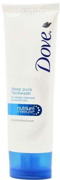 DOVE DEEP PURE FACE WASH FOR DEEPLY CLEANSED & SMOOTH SKIN 50 GRAMS Saloni™ Health