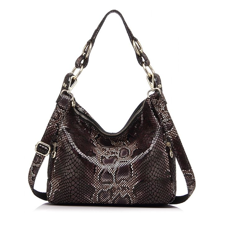 women handbag genuine leather tote bag female classic serpentine prints shoulder bags ladies handbags messenger bag