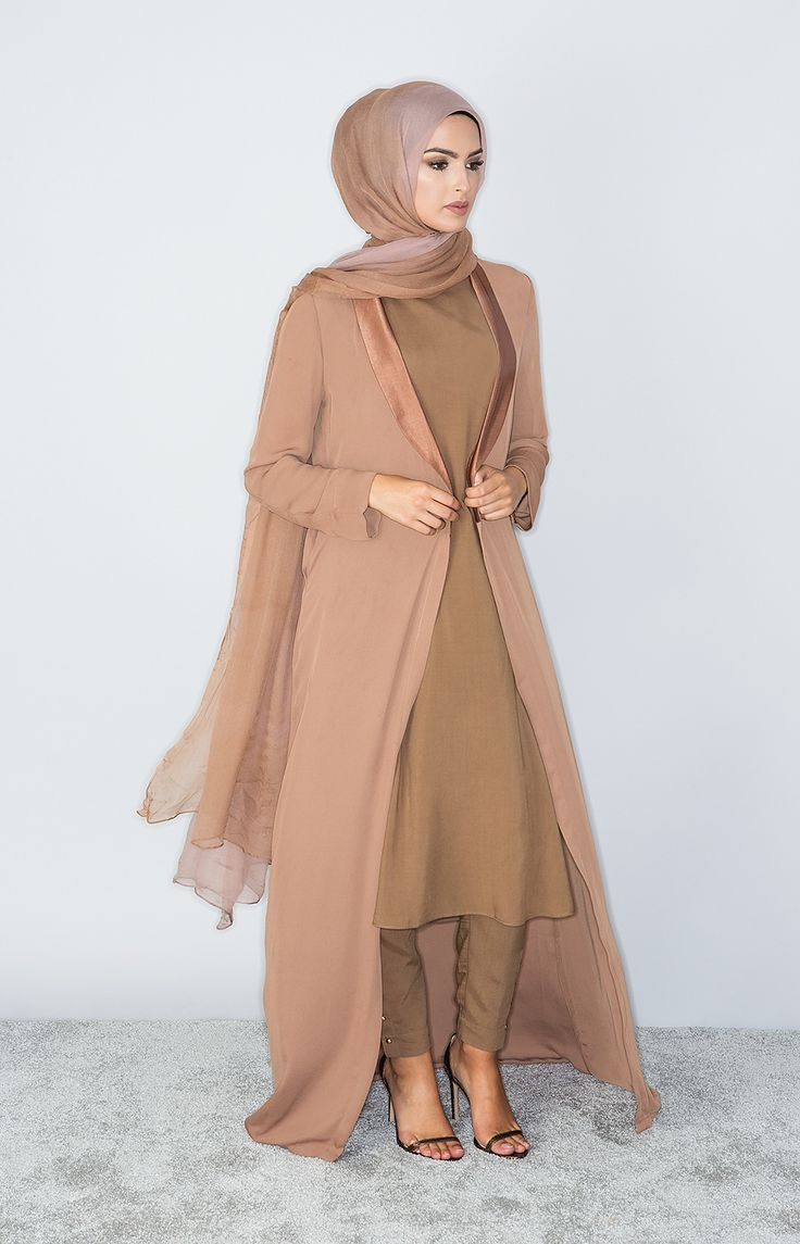 Aab UK Tan Duster Coat : Standard view