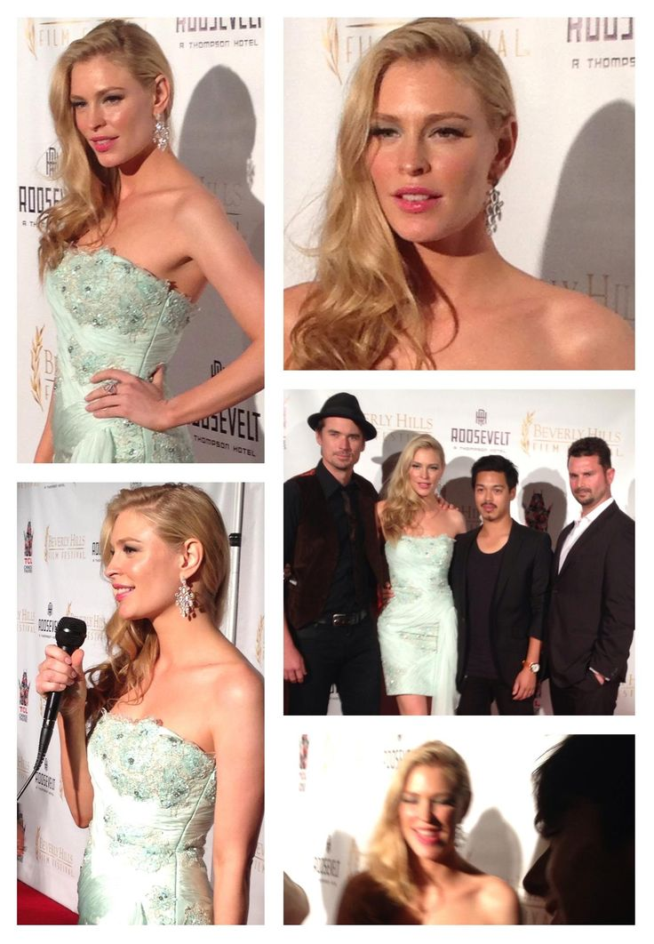 Didn't Supermodel Cynthia Kirchner look gorgeous in style C1045 at Beverly Hills Film Festival?!