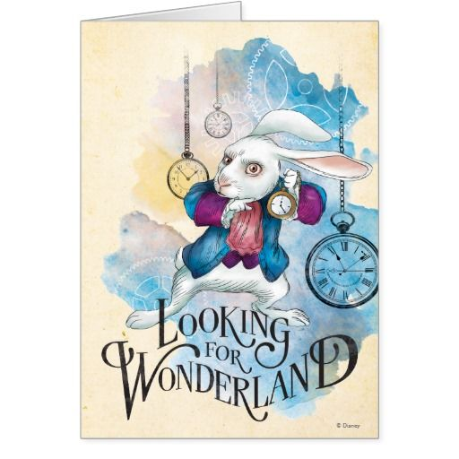 The White Rabbit | Looking for #tarjeta #greeting #card