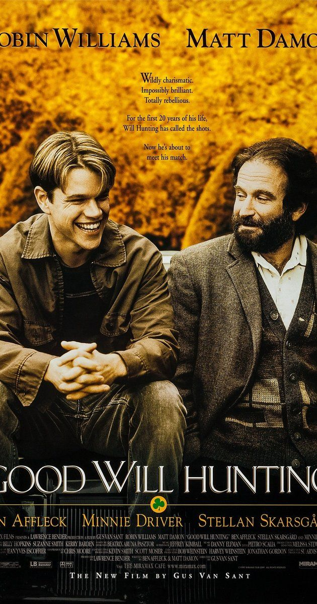 good will hunting and psychology Hear director gus van sant, actors minnie driver and stellan skarsgard, and leading minds in science and psychology discuss the academy.