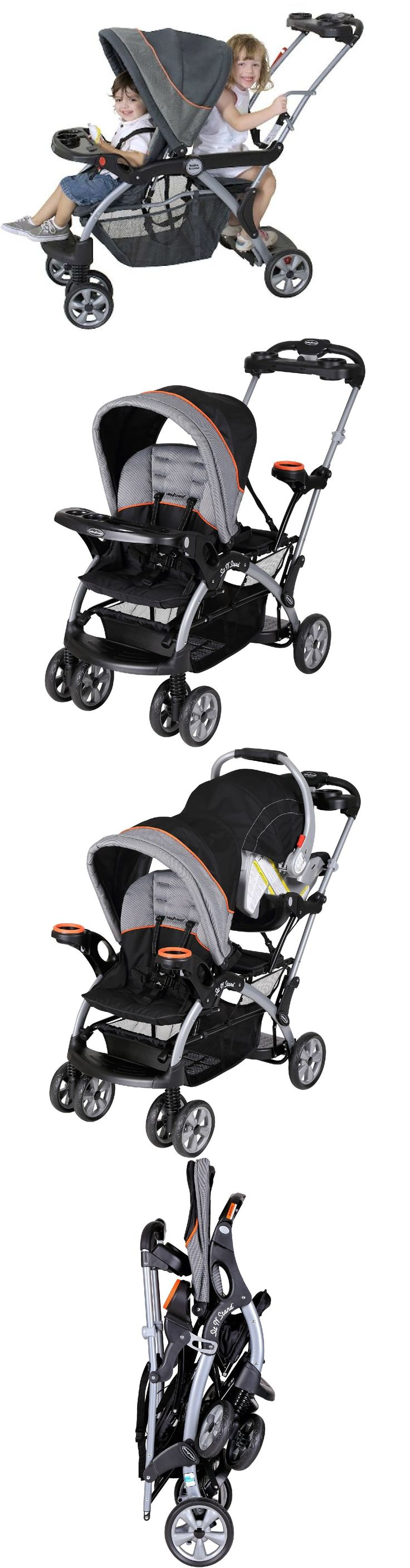 baby and kid stuff Two Kids Stroller For Baby And Toddler Two Children 2 In