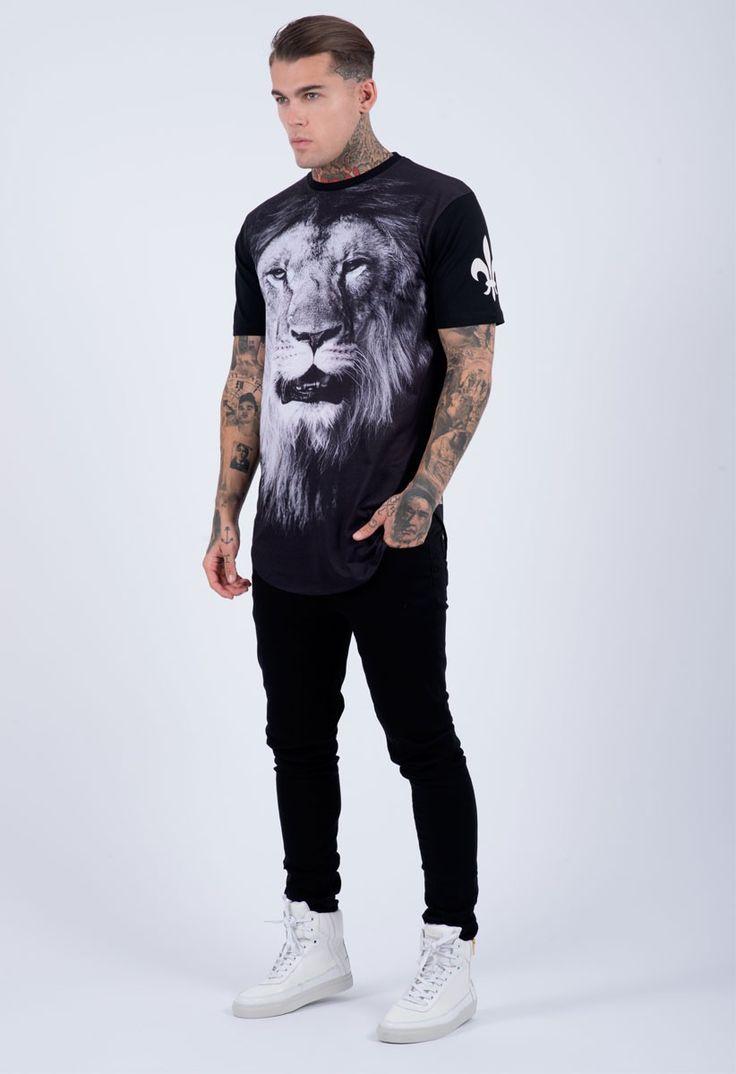 Criminal Damage T-Shirt - Hunter Black Criminal Damage Clothing