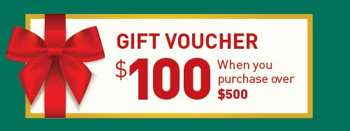 Purchase online and get a voucher for your next order!   Voucher redemption: Valid until 31 December 2016 | Valid for use once per customer only | Voucher coupon code will be sent to your order email address once the order is completed (shipped out) | No minimum order quantity | No refund or credit will be given for any unused amount | Not exchangeable for cash.