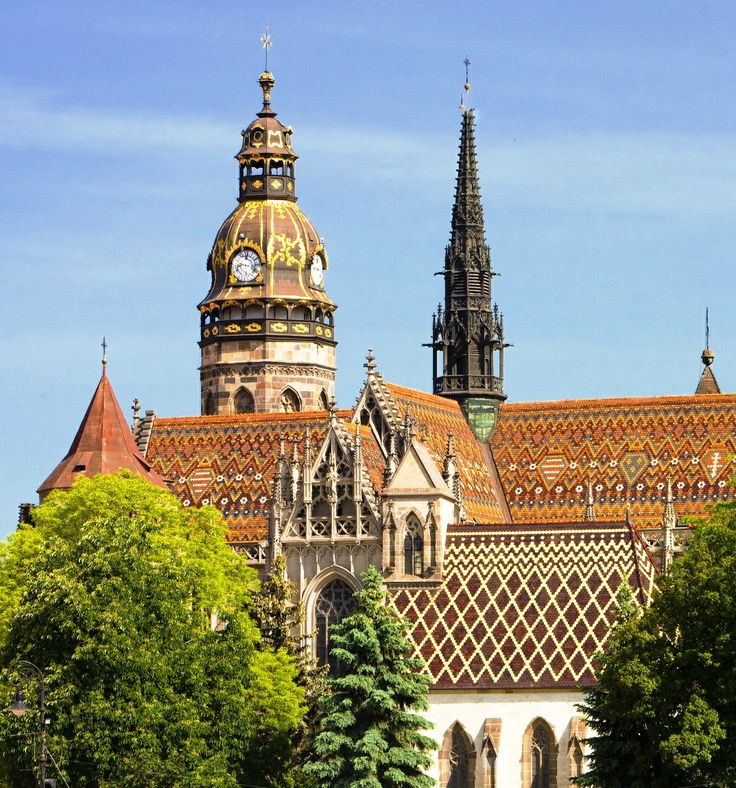 Discover rich history of the city, reaching back to year 1230 by a nice walk around the Košice downtown. Visit imposing gothic St. Elisabeth cathedral, Slovakia's biggest church, as well as the easternmost Gothic cathedral in Europe. #kosice #slovakia #cathedral #citybreak