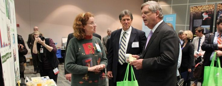 U.S. Secretary of Agriculture Tom Vilsack spoke about the opportunities of products made from plants and agriculture during the Bioproducts World Showcase.