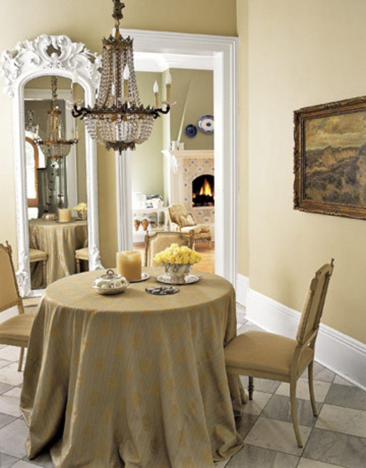 Dining Room Furniture Ideas For Beige Small Space With Amazing Rounded Shaped Table That Have
