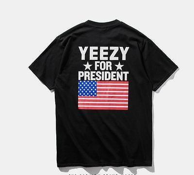 Kanye West Yeezus Top Yeezy for President T-Shirt - Jay Z Tee Unisex Costume