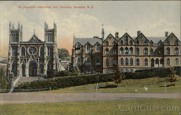 St. Joseph's Cathedral and Convent Dunedin New Zealand