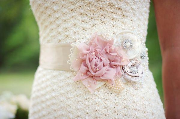 beautiful pink sash