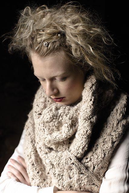 Ravelry: Shivery Wrap pattern by Lisa Richardson