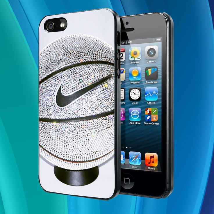 iphone 5 case - Nike Basketball photo Glitter