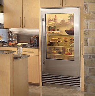 viking refrigerator inside. sub-zero see-through refrigerators : treehugger viking refrigerator inside d