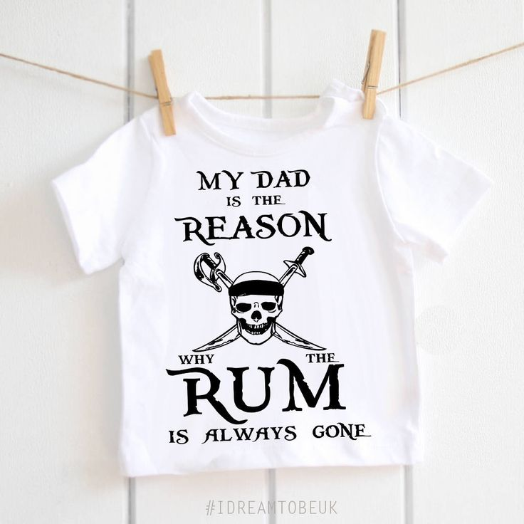 Pirates of the Caribbean T-shirt - fathers day gift, baby T-shirt, toddler top, pirates T-shirt, skull babywear, pirates top, baby pirates by IDreamtobeUK on Etsy
