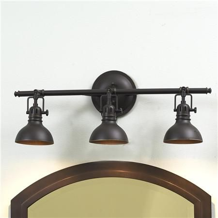Pullman Bath Light - 3 Light (2 Finishes!)
