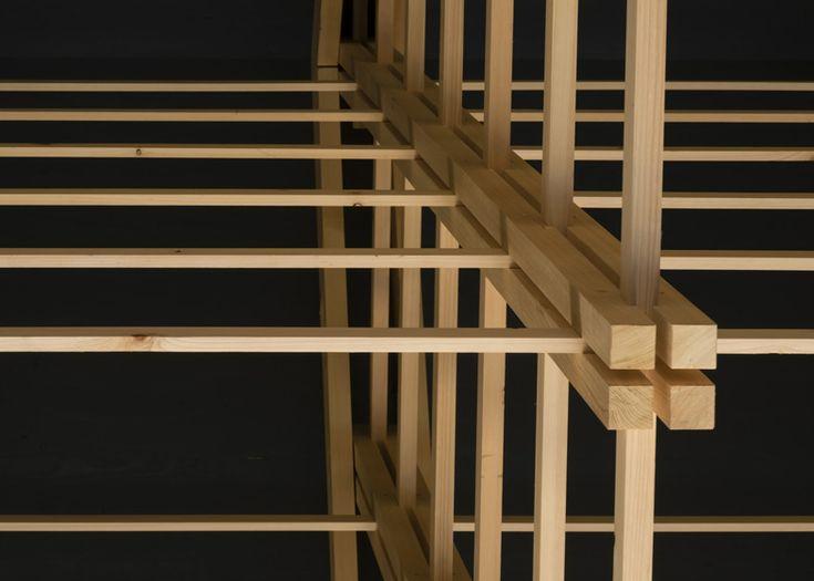 archery hall + boxing club - tokyo - ft - truss detail