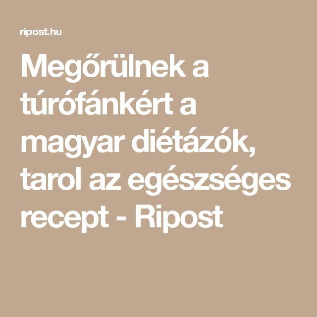 Megőrülnek a túrófánkért a magyar diétázók, tarol az egészséges recept - Ripost
