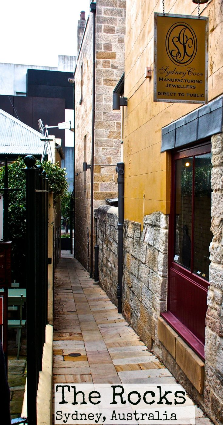 The Rocks in Sydney, Australia, is now a prime real estate spot with houses…