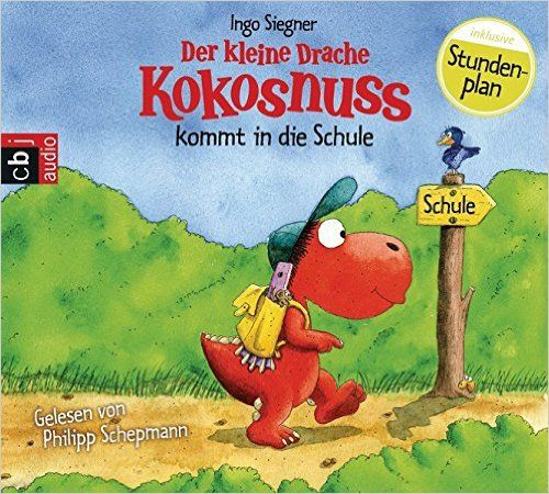 Another audio book about starting school, from the popular 'Kleine Drache Kokosnuss' (Little Dragon Coconut) series. Also available as a book.