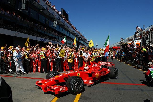 F1 2007 R01 Australia GP Kimi Raikkonen