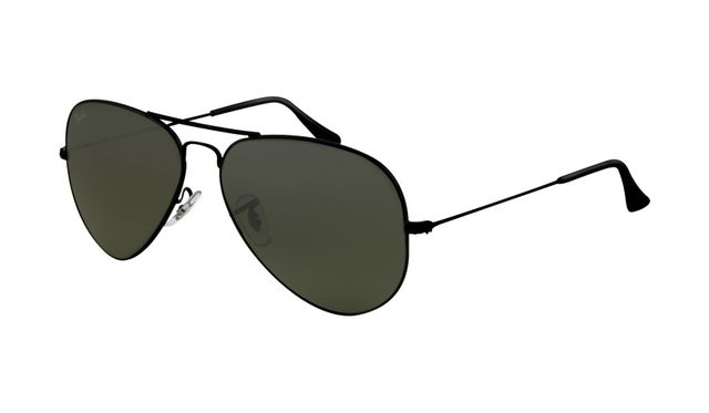 ray ban rb3025 polarized price  Ray Ban RB3025 Aviator Sunglasses Black Frame Crystal Deep Green ...