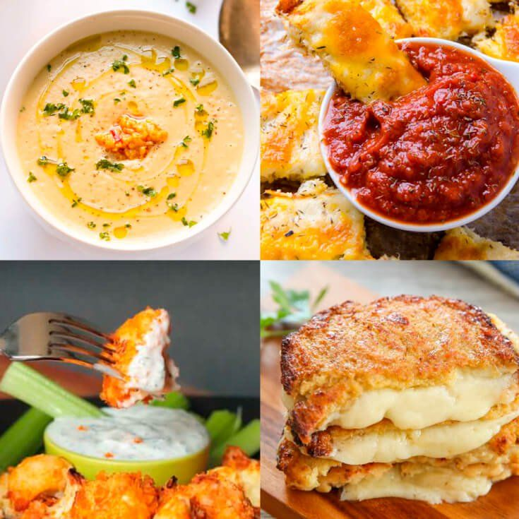 Cauliflower Recipes Roundup #cheese