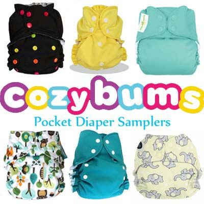 Cozy Bumdle Pocket Sampler - Cloth Diapers Canada