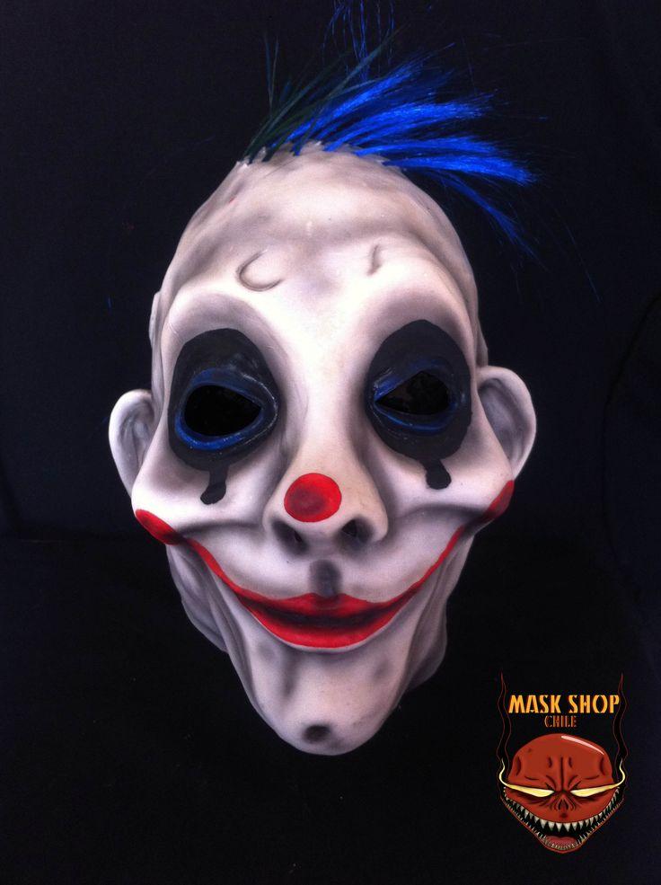 Grumpy clown, joker´s driver www.facebook.com/maskshopchile