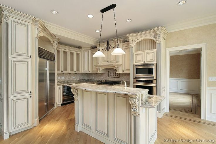 #Kitchen Idea of the Day: Antique Kitchens.