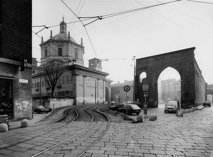 Gabriele Basilico: Milano, Colonne di San Lorenzo