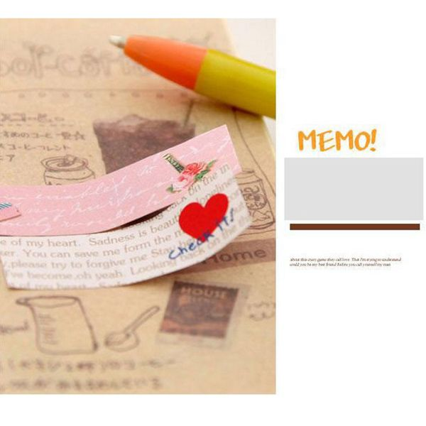 Cute Cartoon Sticky Notes Aniaml Notepad Colorful Schedule Memo