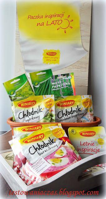 Testowanie produktów 2015, darmowe próbki 2015, opinie i testy: Chłodniki WINIARY #AmbasadorkaWINIARY - paczka Ambasadorki od #Rekomendujto