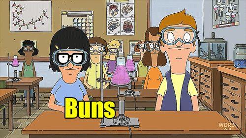bob's burgers / tina belcher / jimmy pesto jr / animated