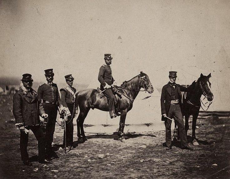 Reverend Mr. Butler & officers of the 47th Regiment