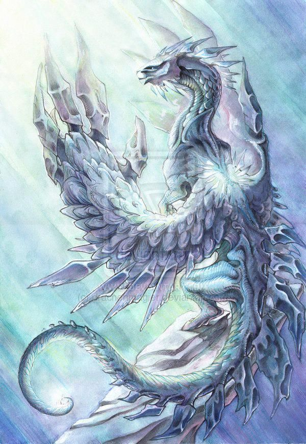 Snow, Ice, & Frost Dragons | Dragons and Winged Serpents ...