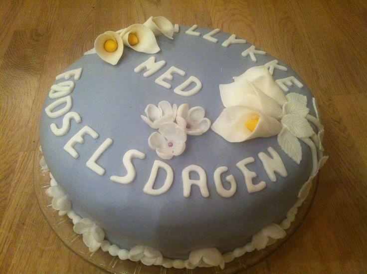 Birthdaycake for my mom