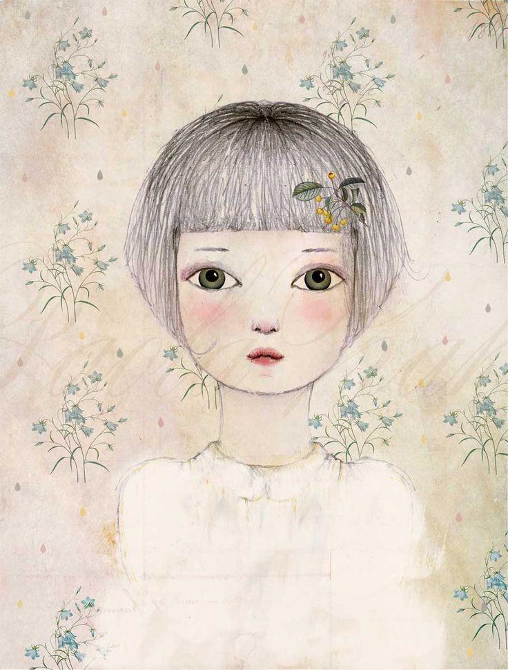A digital portrait - Paola Zakimi